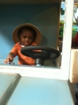 On a safari at the children's museum