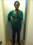 Green shirt alteration